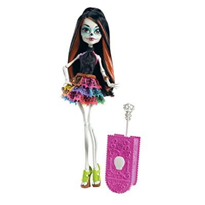 Monster High Travel Scaris Skelita Calaveras Doll (Discontinued by manufacturer): Toys & Games