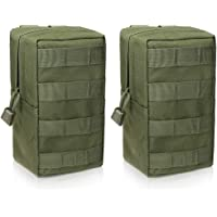 WYNEX 2 Pack Molle Pouches, Tactical EDC Utility Pouch Compact Water-Resistant, Organize Small Gear Gadget for Military…