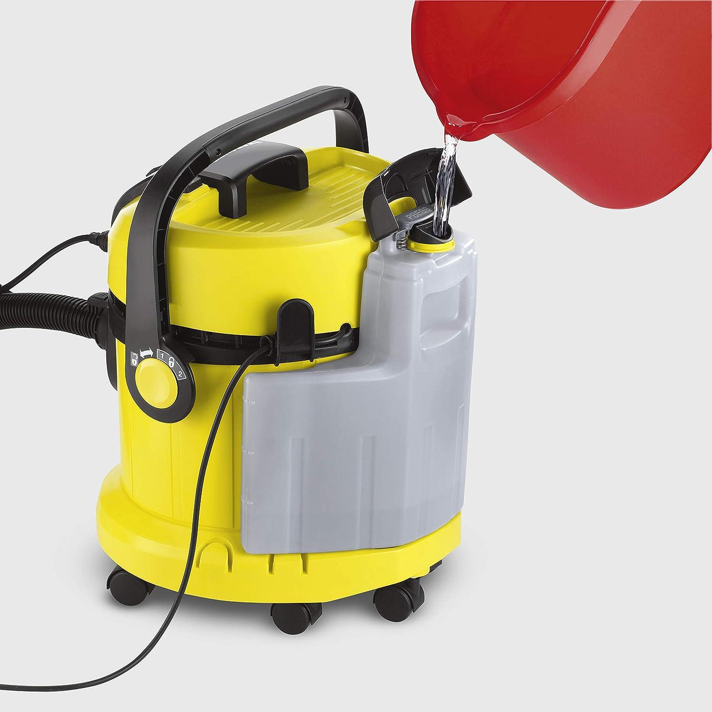 Karcher SE 4002 - Lava-aspiradora con cable, 1400 W y 4+4 litros de depósito de agua limpia / sucia