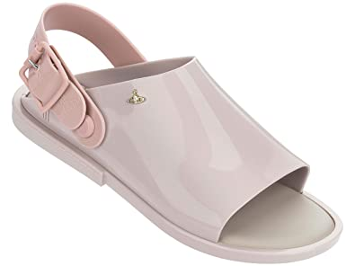 f5369263e9f798 Vivienne Westwood   Melissa Women s Vw Twist Ivory Contrast Open Toe ...