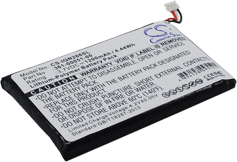 Battery for Garmin Nuvi 2460LMT Nuvi 2595LM Nuvi 2595LMT Nuvi 2660LMT Nuvi 2669LMT 361-00051-00 361-00051-01 361-00051-02 RCD