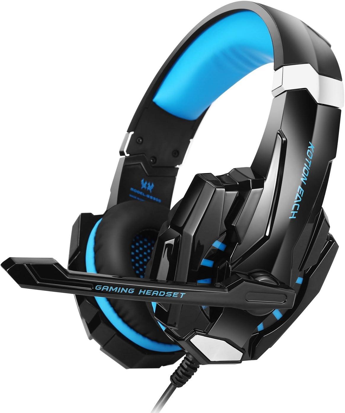 Cerrados con micrófono para Xbox 360 / PS3 / PS4 / PC Computer Laptop / Teléfonos Móviles
