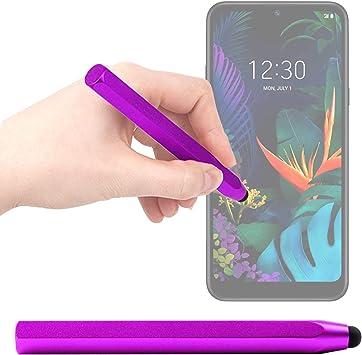 DURAGADGET Lápiz Stylus Morado Compatible con Smartphone LG K50 ...