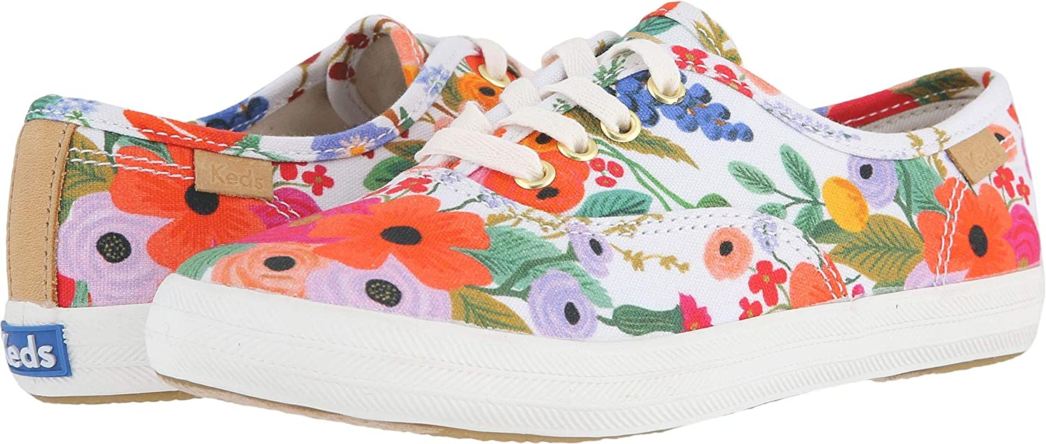 Keds x Rifle Paper Co Garden Party 5 Big Kid Kids Girls Rifle Paper Champion Seasonal Little Kid//Big Kid