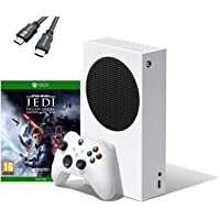 Microsoft - Xbox Series S 512 GB All-Digital Console (Disc-Free Gaming) Bundle Star Wars: Jedi Fallen Order for Xbox One…