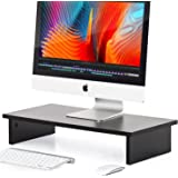 FITUEYES Home Office Monitor Riser Stand with Big Storage , fit 2 Screens DT106001WB
