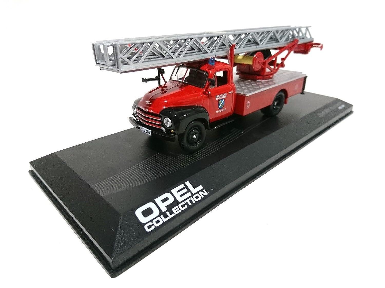 Gé né rique Camion Opel Blitz Pompier Feuerwehr 1/43 (ref: 150R) IXO-IST