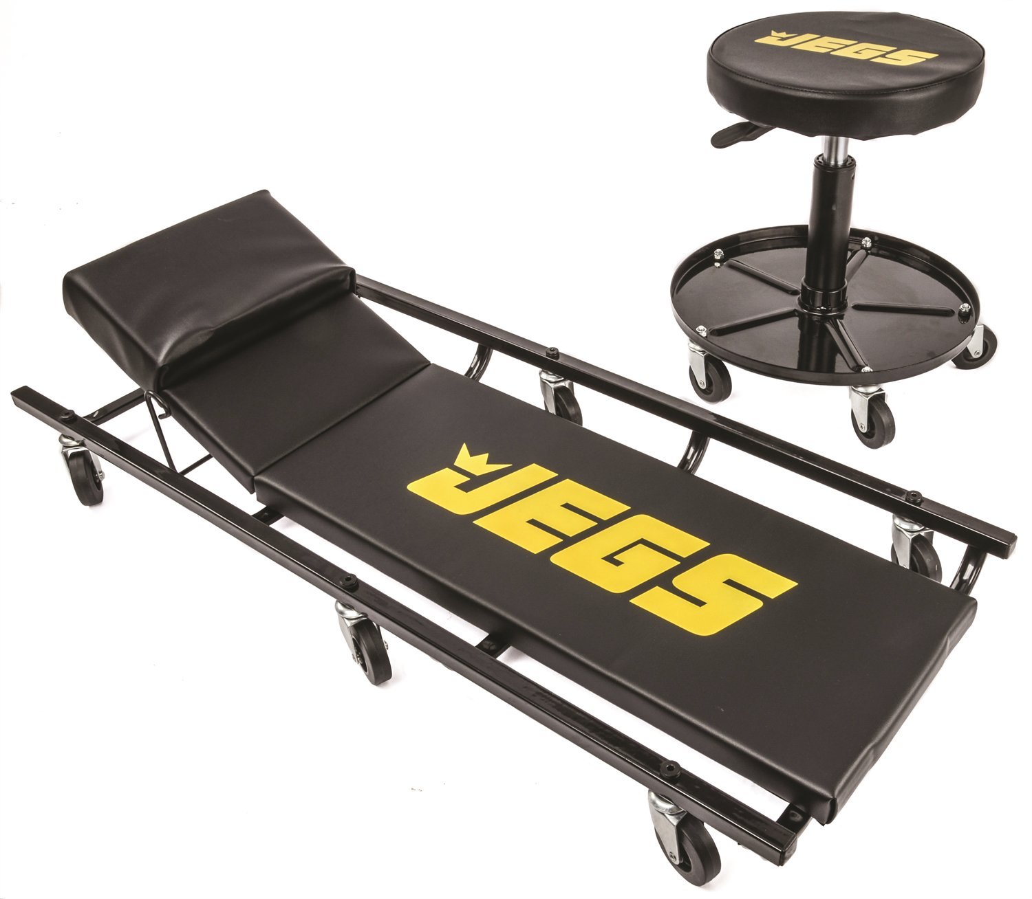 JEGS 81160 Creeper & Air Seat Set by JEGS