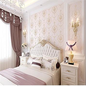 3D - Heikle Damaskus Warm Tapeten Europäische Wohnzimmer ...