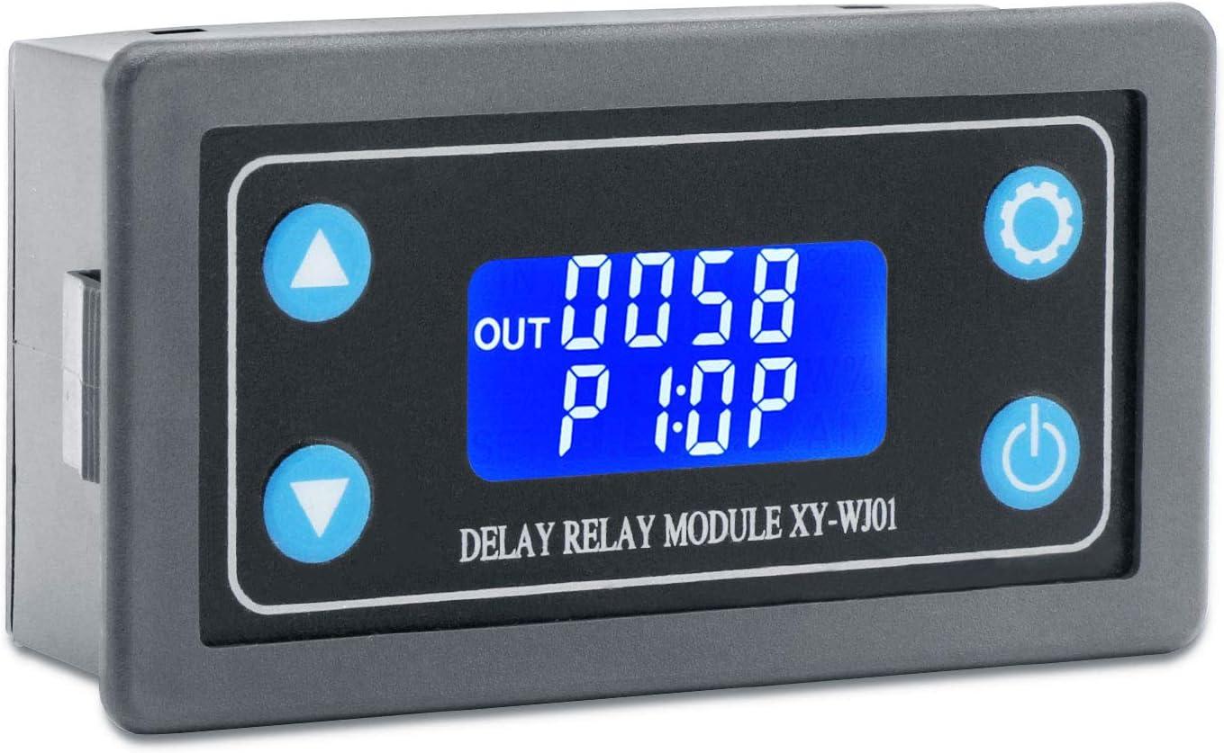Time Delay Relay Module Digital Lcd Display 6