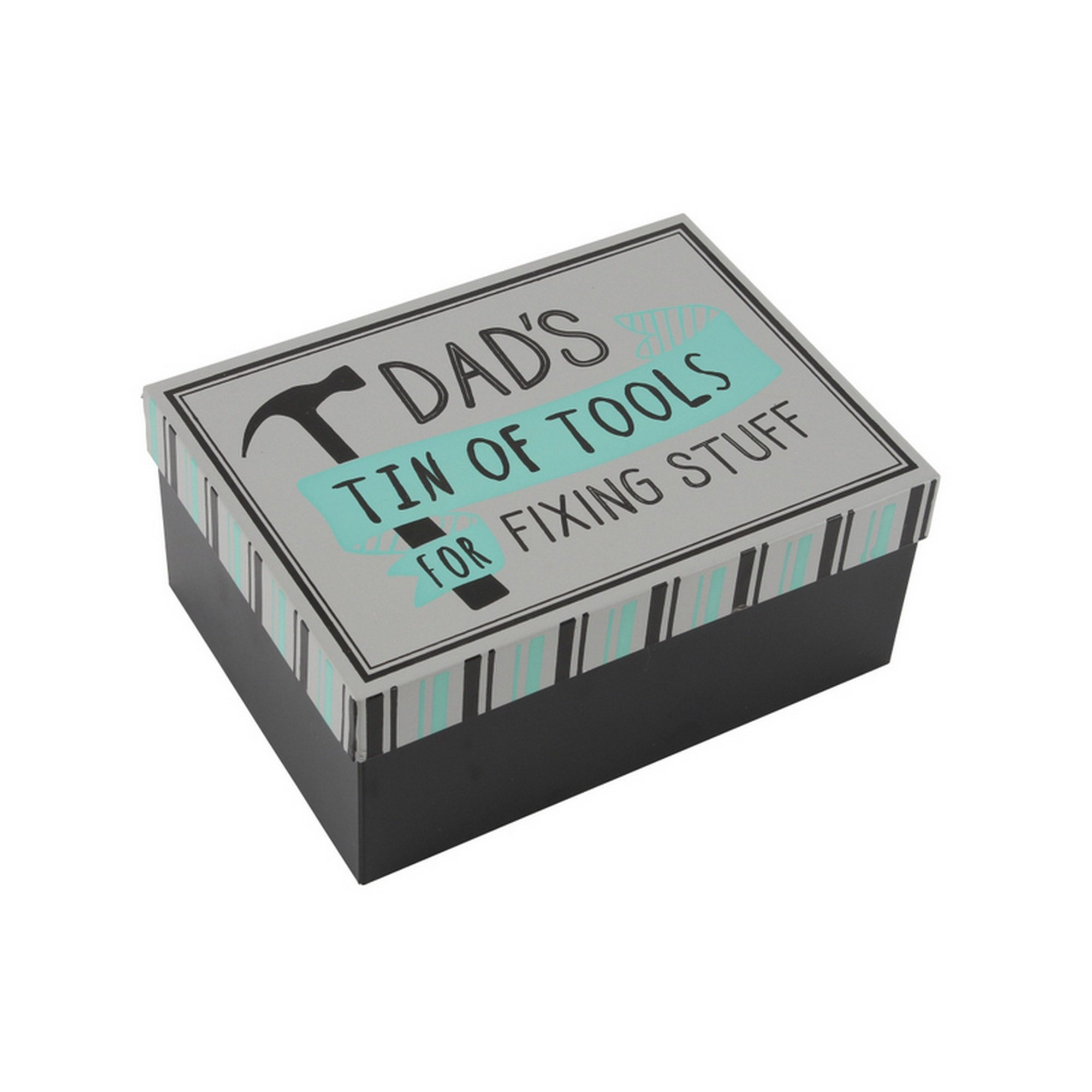 CGB Giftware No1 Dad Tin of Tools Tin (One Size) (White)