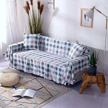 Nclon Verano Funda para sofá 1-Pieza Funda de sofá Tela ...