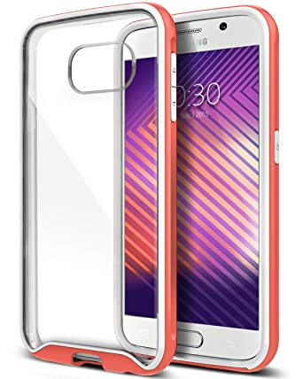 Amazon.com: Galaxy S6 Funda, caseology® [Dual Bumper Clear ...