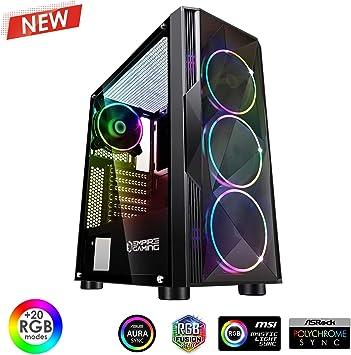 EMPIRE GAMING – Caja PC Gamer Diamond ARGB Torre Mediana ATX ...