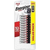 Energizer AAA Batteries, MAX Alkaline, 24 Pack