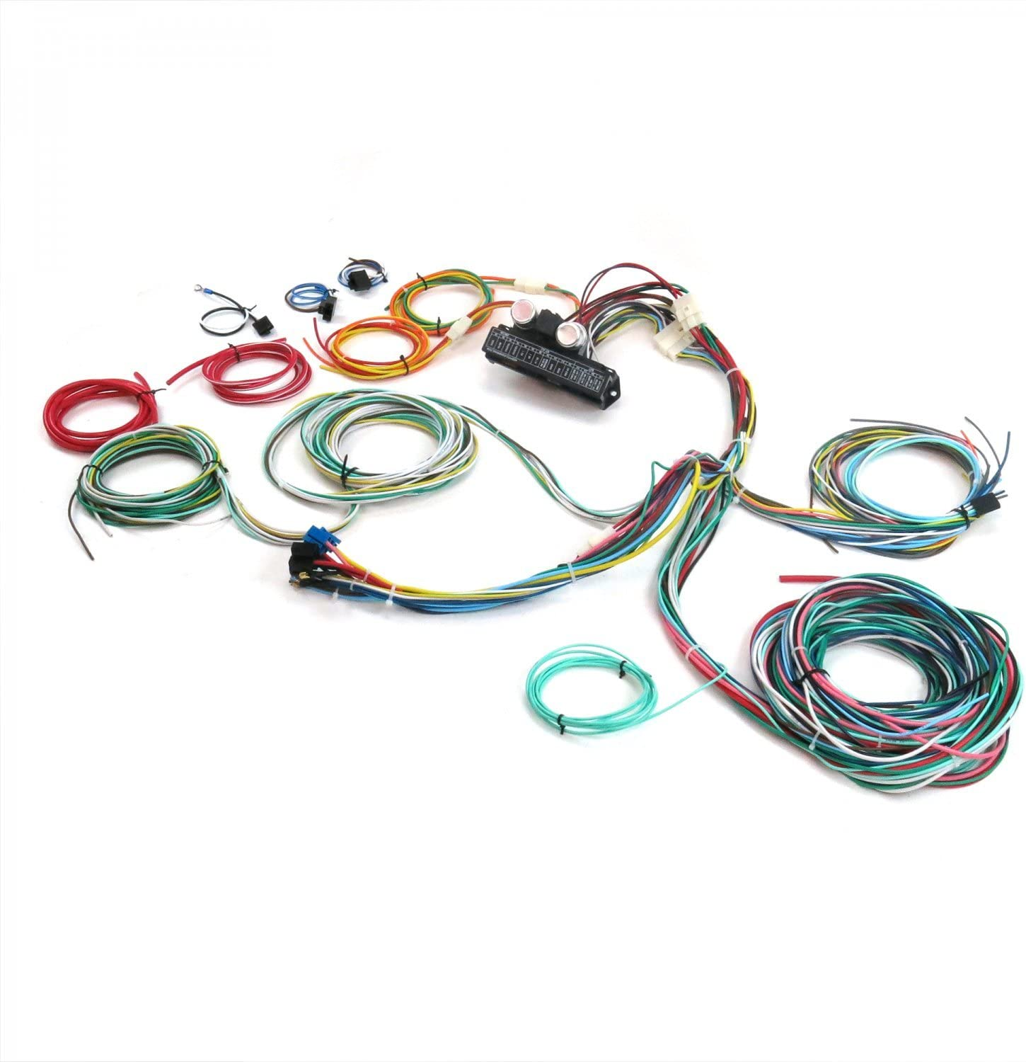 Ultimate 15 Fuse 12V Conversion 28 1928 Model A Cabriolet Keep It Clean 689207 Wiring Harness