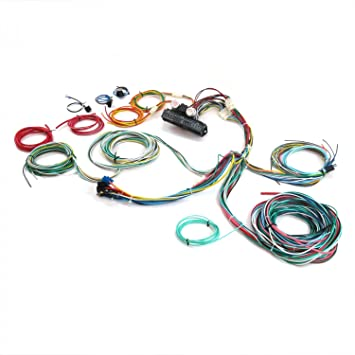 amazon com keep it clean 689633 wiring harness ultimate 15 fuse rh amazon com 1946 ford pickup wiring harness 1946 ford pickup wiring harness
