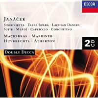 Davi Crossley & Wiener Philharmonike - Sinfonietta/Taras Bulba/Piano Conce