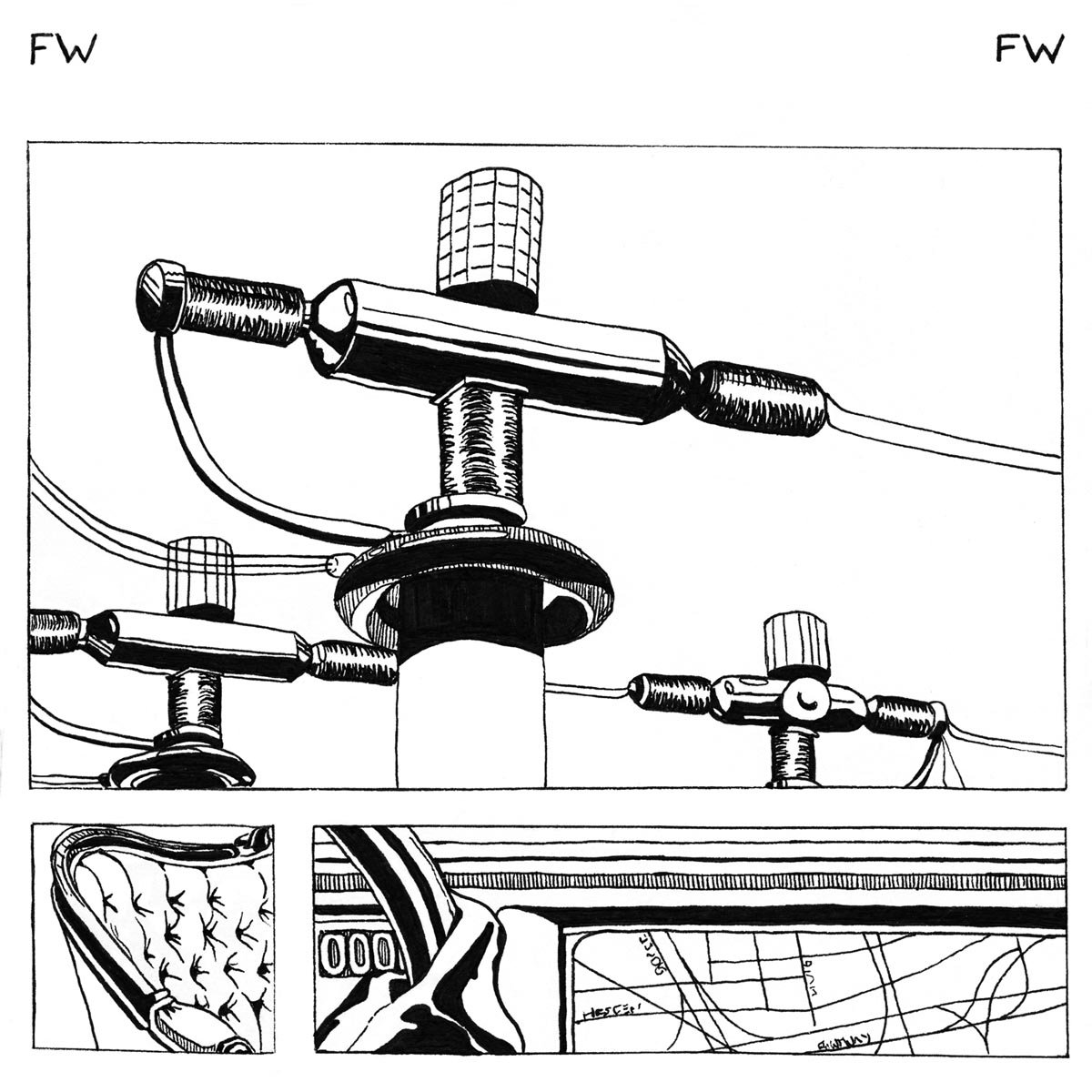 Cassette : FORTH WANDERERS - Forth Wanderers (Cassette)