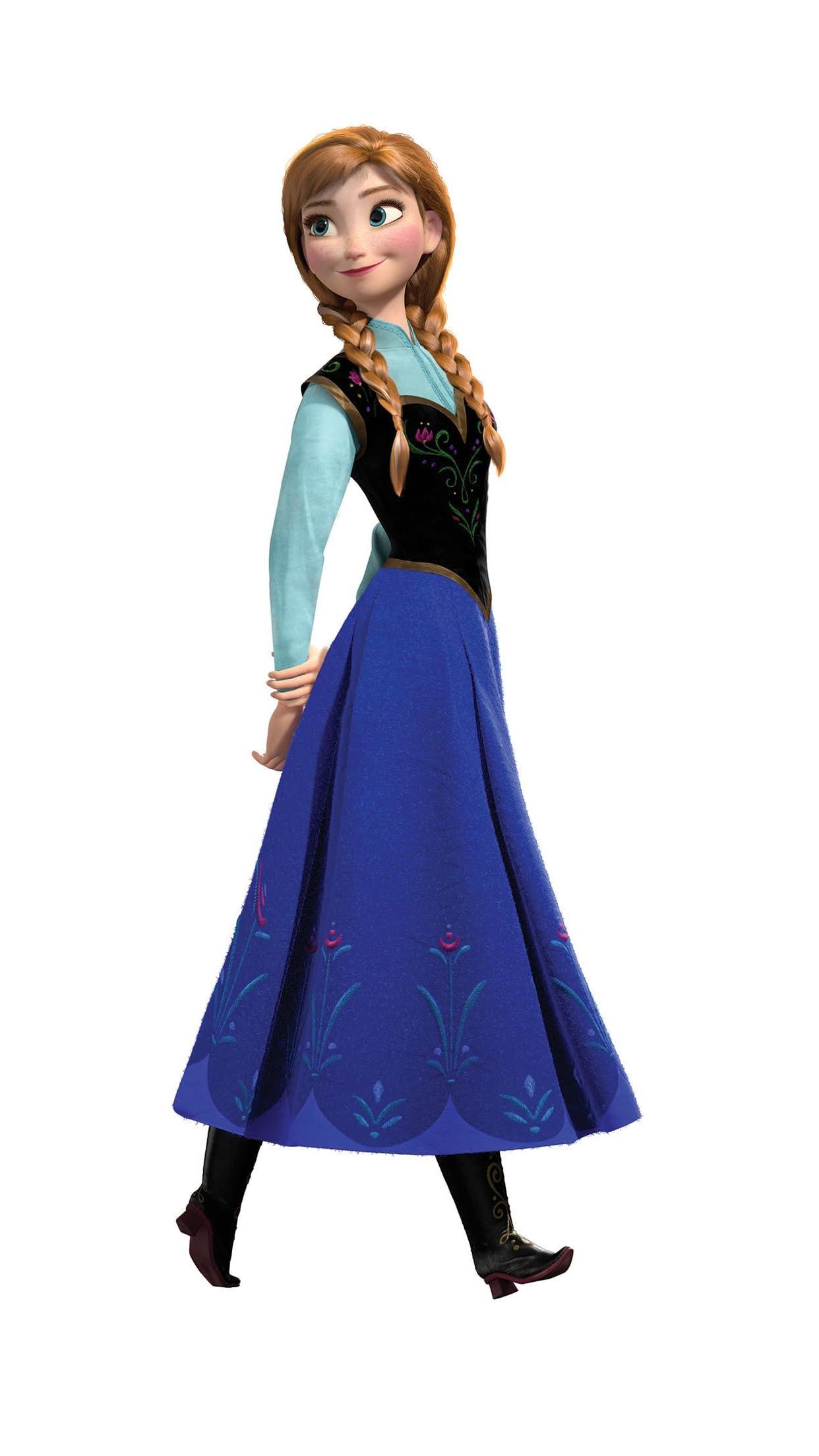 ディズニー アナ(Princess Anna of Arendelle)『アナと雪の女王』 iPhone8,7,6 Plus 壁紙(1242×2208)画像