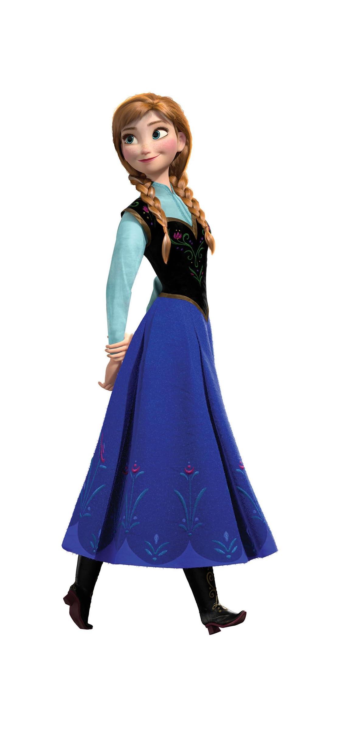ディズニー アナ(Princess Anna of Arendelle)『アナと雪の女王』 iPhone X 壁紙(1125x2436) 画像73903 スマポ