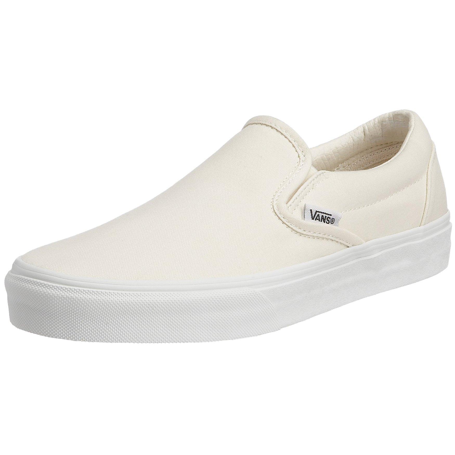 Vans Men's Slip-On(tm) Core Classics, (White Wht), Women 2