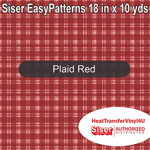 Argyle, 10 Yards Siser EasyPatterns Iron On Heat Transfer Vinyl 18 Inches