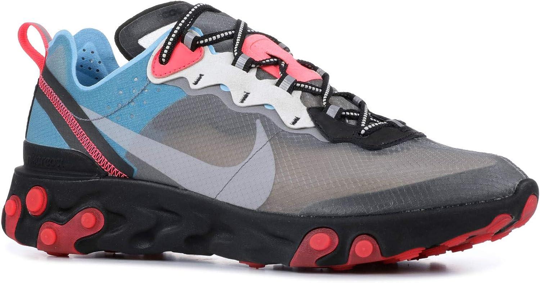 Nike React Element 87 Shoes Amazon.com: Nike React Element 87 - Aq1090-006 - Size 5: Shoes