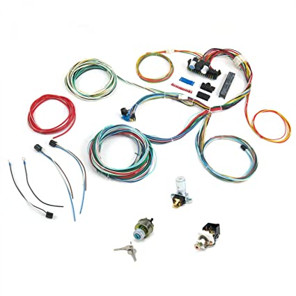 amazon com easier wiring 17b 21 circuit ez wiring harness all black rh amazon com Painless Wiring 1979 Ezgo Golf Cart Wiring Diagram