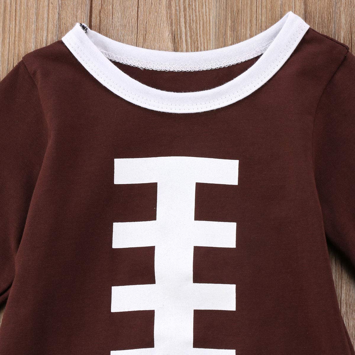 Turuste Toddler Baby Girls Tassels Dress Long Sleeve Rugby Print Outfits