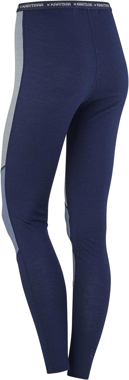Kari Traa Womens Kink Base Layer Bottoms Merino Wool Blend Thermal Pants