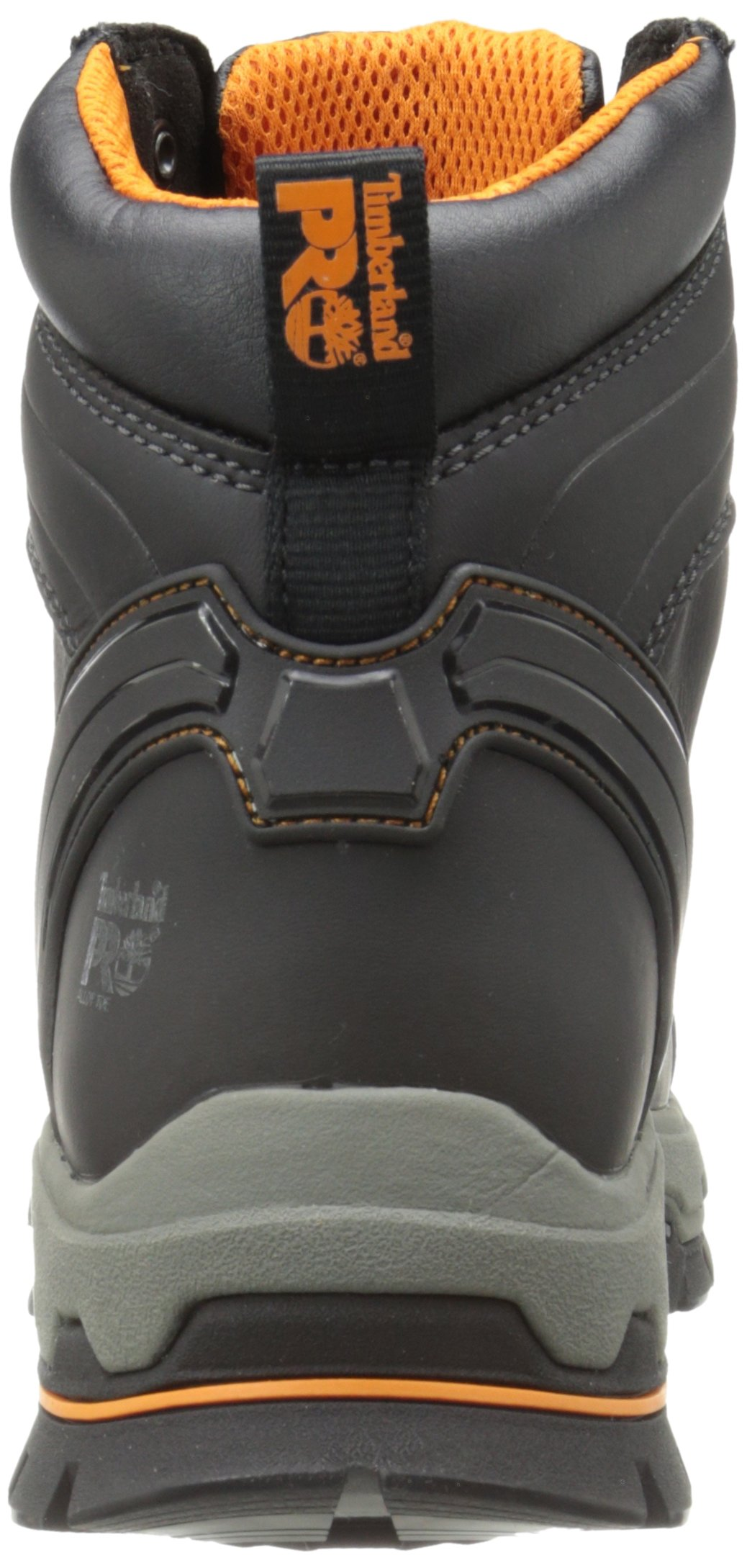 Timberland PRO Men's 6 Inch Stockdale Grip Max Alloy Toe Work and Hunt Boot, Black Microfiber, 5.5 W US by Timberland PRO (Image #2)