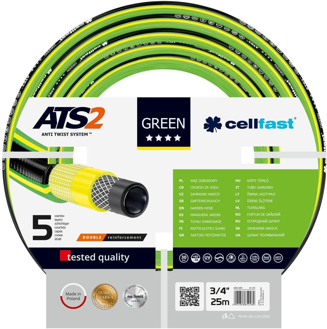 Cellfast GREEN Garden Hose