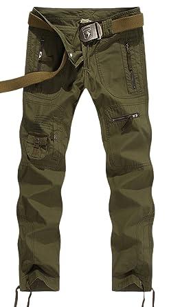 68ec2963135 chouyatou Women s Outdoor Multi-Pockets Camouflage Cargo Work Pants (Small