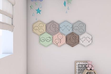 Panelados - Teselado decorativo de pared para dormitorio de bebé ...