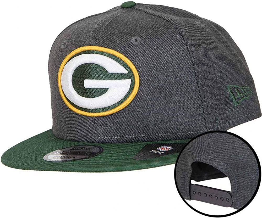 A NEW ERA Era NFL Heather 9fifty Grepac Gorra, Hombre, dk Grey, S ...