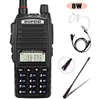 BaoFeng Radio UV 82+ 8W Handheld Dual Band VHF UHF