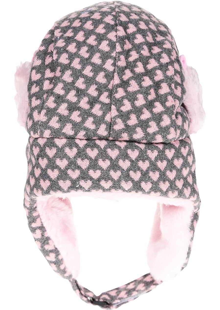 Berretto colbacco in maglia e pelliccia da bambina ragazza 3/colori Hello Kitty da 3/a 9/anni