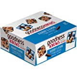 goodnessKNOWS Blueberry, Almond & Dark Chocolate Gluten Free Snacks Square Bars 12-Count Box
