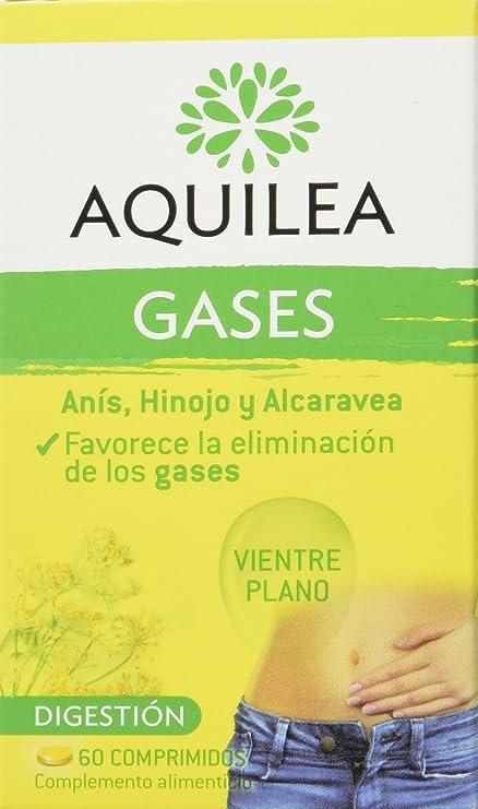 URIACH AQUILEA Gases Vientre Plano 60 comprimidos