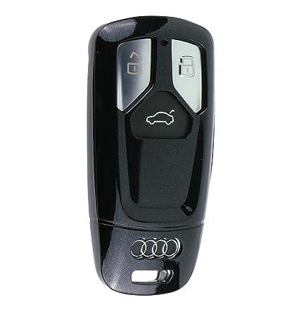 Schlüsselhülle HD Schwarz Silikonschutz Autoschlüssel Cover Fernbedienung