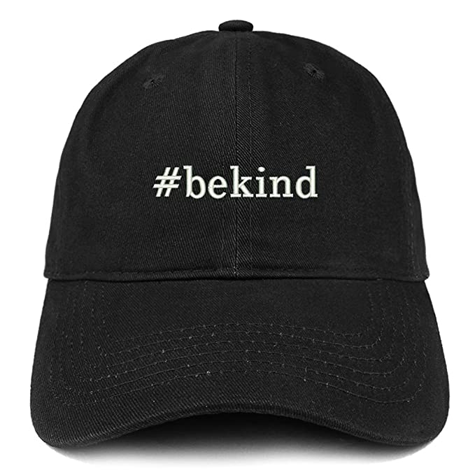 86ce34c4c Trendy Apparel Shop Hashtag Be Kind Embroidered Soft Cotton Dad Hat