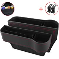 $36 » Vooteen Car Seat Gap Filler, Seat Gap Filler with Cup Holder, Car Seat Organizer, PU Leather Seat…