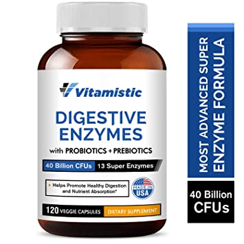 Amazon.com: Enzimas digestivas vitamínicas más probióticos y ...