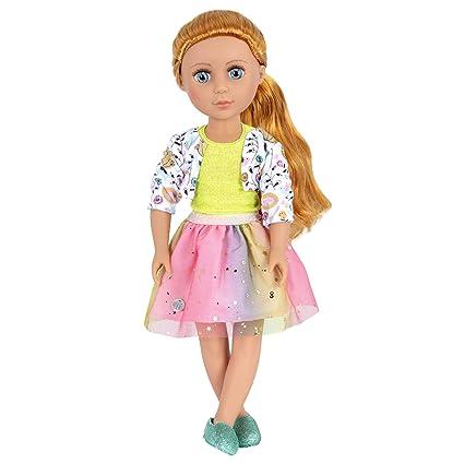 e82cc6474 Amazon.com  Glitter Girls by Battat - Shimmer Glimmer Urban Top and ...