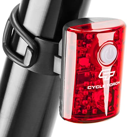 Bike Bicycle CR2032 Battery Power  LED Head Front Light Rear Tail Safe Warm Lamp