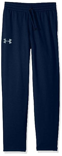 35e29dcc041 Under Armour Boys' Armour Fleece Pants, Academy (408)/Steel, Youth
