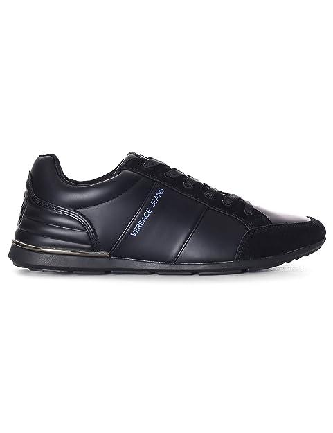Versace Jeans - Zapatillas para Hombre, Color Negro, Talla 41 EU