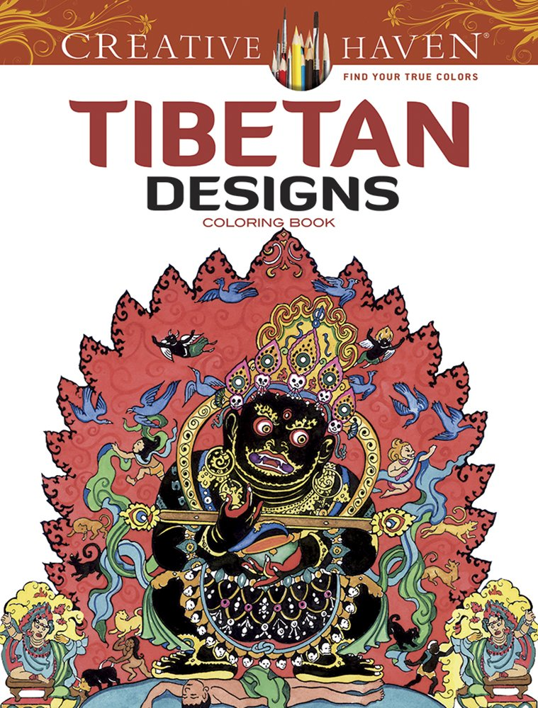 Amazon Creative Haven Tibetan Designs Coloring Book Adult 9780486494494 Marty Noble Books