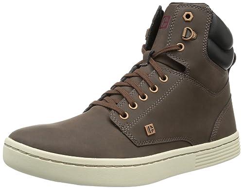 Cat Footwear TULELAKE - Altas de cuero hombre, color marrón, talla 40: Amazon.es: Zapatos y complementos